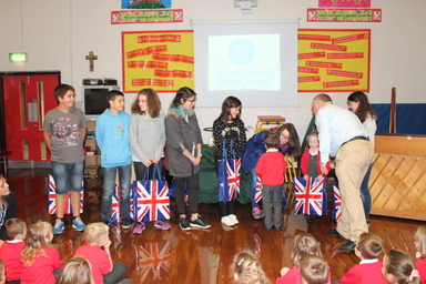 St. Joseph's Welcomes International Visitors
