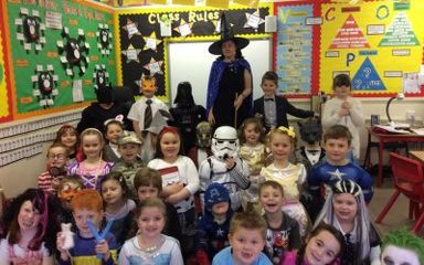 Year 2 are enjoying World Book Day
