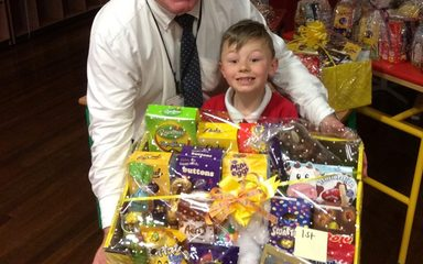 Easter raffle prize winners!