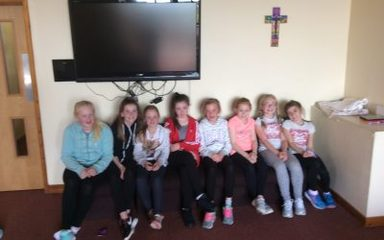 Year Six settled into Emmaus Youth Village