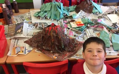Volcanic Eruptions in Year 3