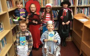 Fantastic Year 3 on World Book Day.