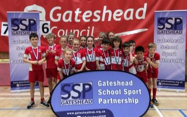 Sportshall Athletics Gateshead Finals