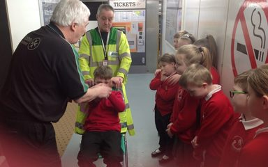 Year 3 and 4 today. Green group had a great time at Safety Works.