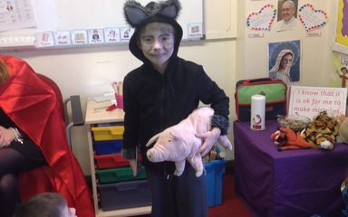Year 1 enjoying World Book Day