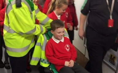 Year 3 and 4 having a great time at Safety Works.
