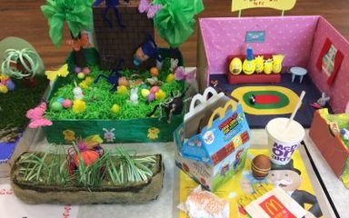 Brilliant Egg Displays Year 3