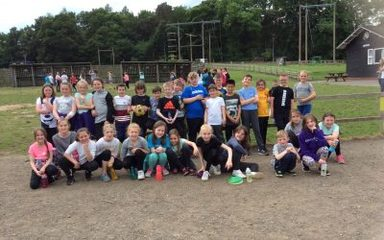 Year 5 having a fantastic time already! The adventures await.