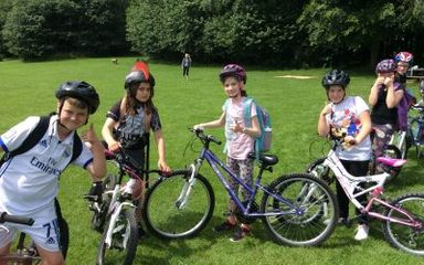 Year 5 Bike Ride To Newburn
