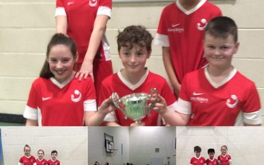 Basketball winners! A fantastic performance for all involved in the basketball tournament last night. Well done children.