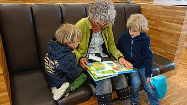 Family Reading Group at Blaydon Library